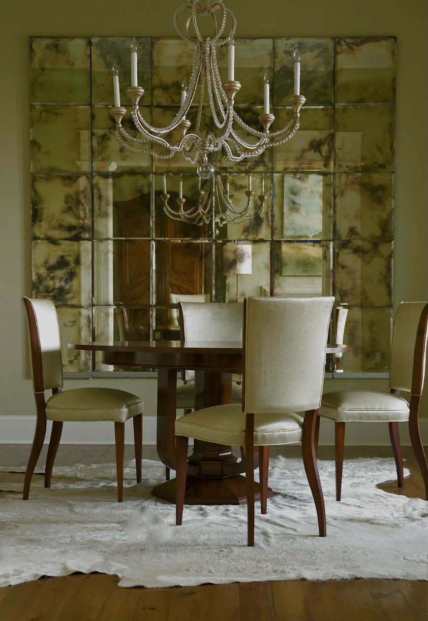 Best ideas about Dining Room Mirrors . Save or Pin Interior Design Tips How to Decorate With a Mirror Now.