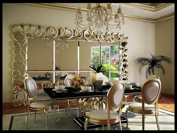Best ideas about Dining Room Mirrors . Save or Pin 34 best Dining Room Mirrors images on Pinterest Now.