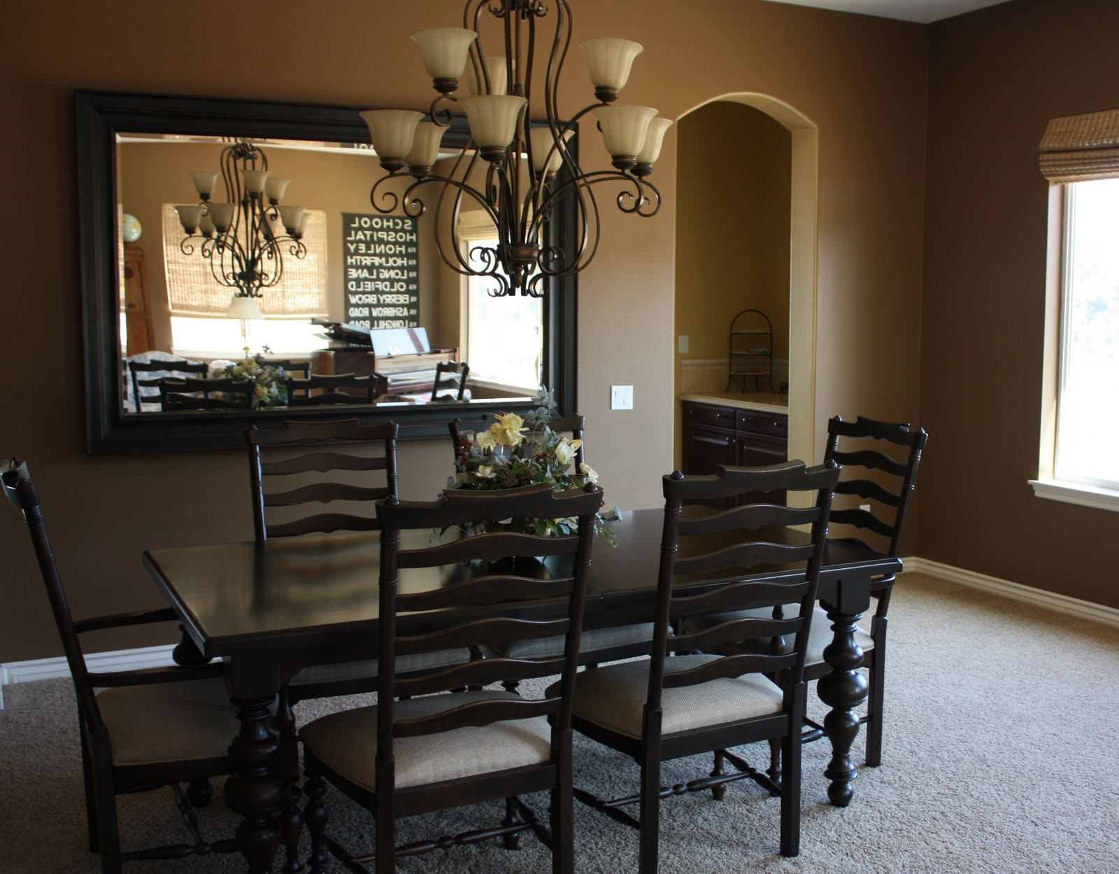 Best ideas about Dining Room Mirrors . Save or Pin Elderberry Street Little by Little Now.