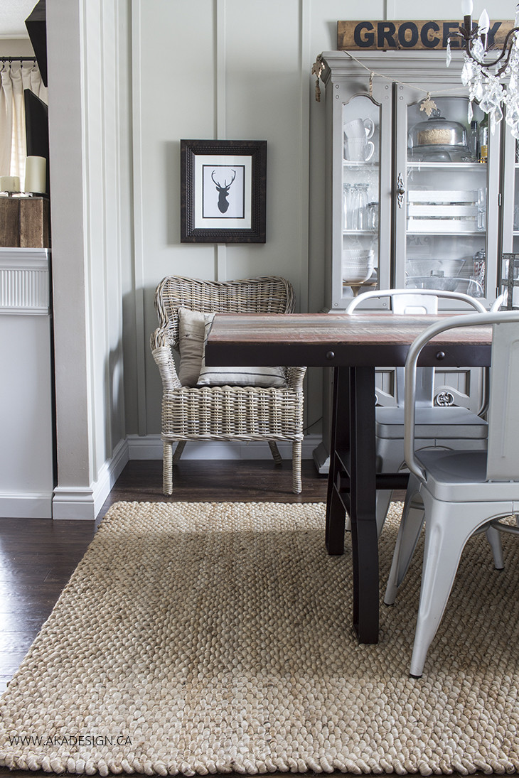 Best ideas about Dining Room Rug . Save or Pin A New Rug for the Dining Room Now.