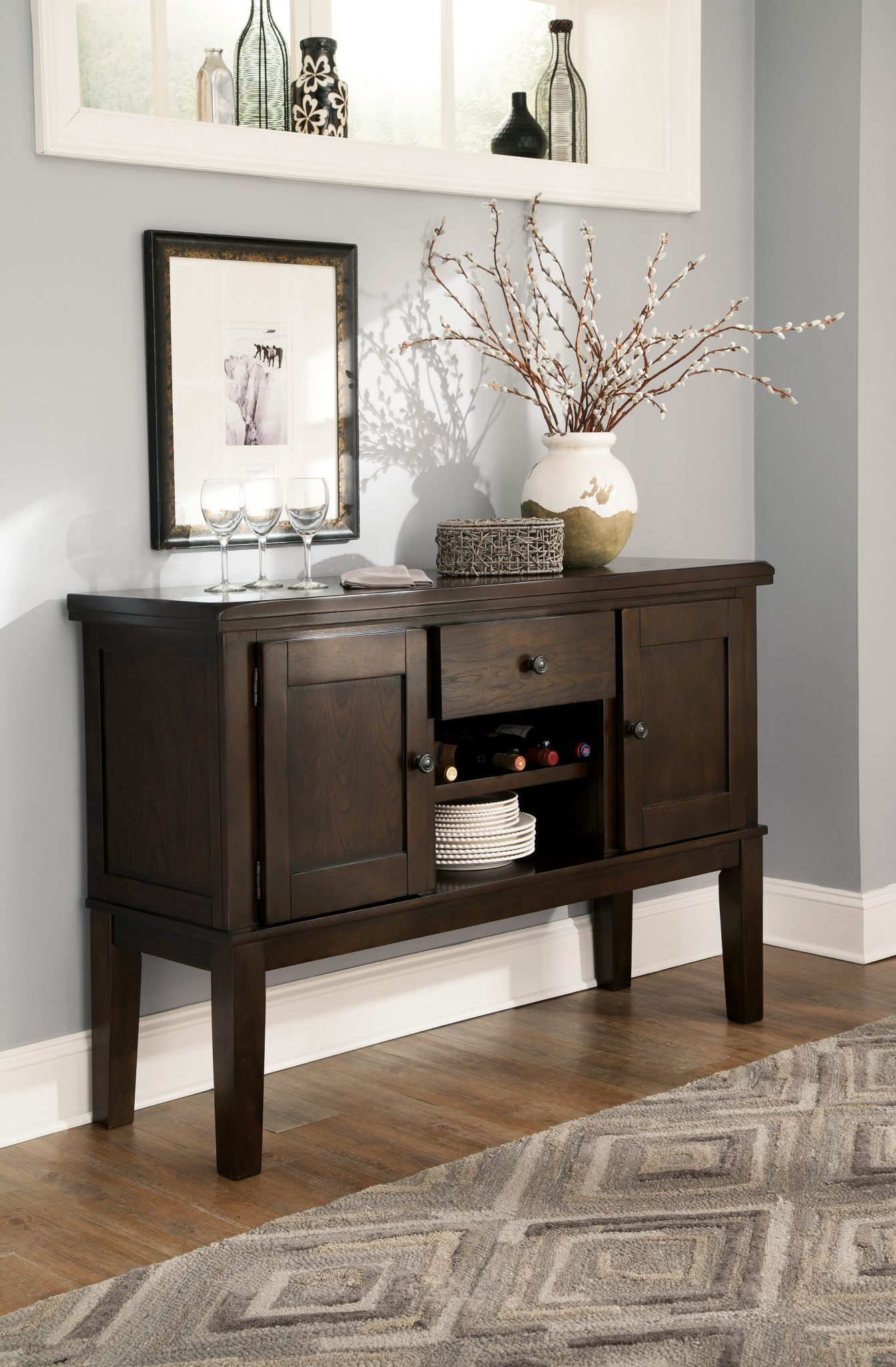 Best ideas about Dining Room Server . Save or Pin Ashley D596 Haddigan Dining Room Server Now.