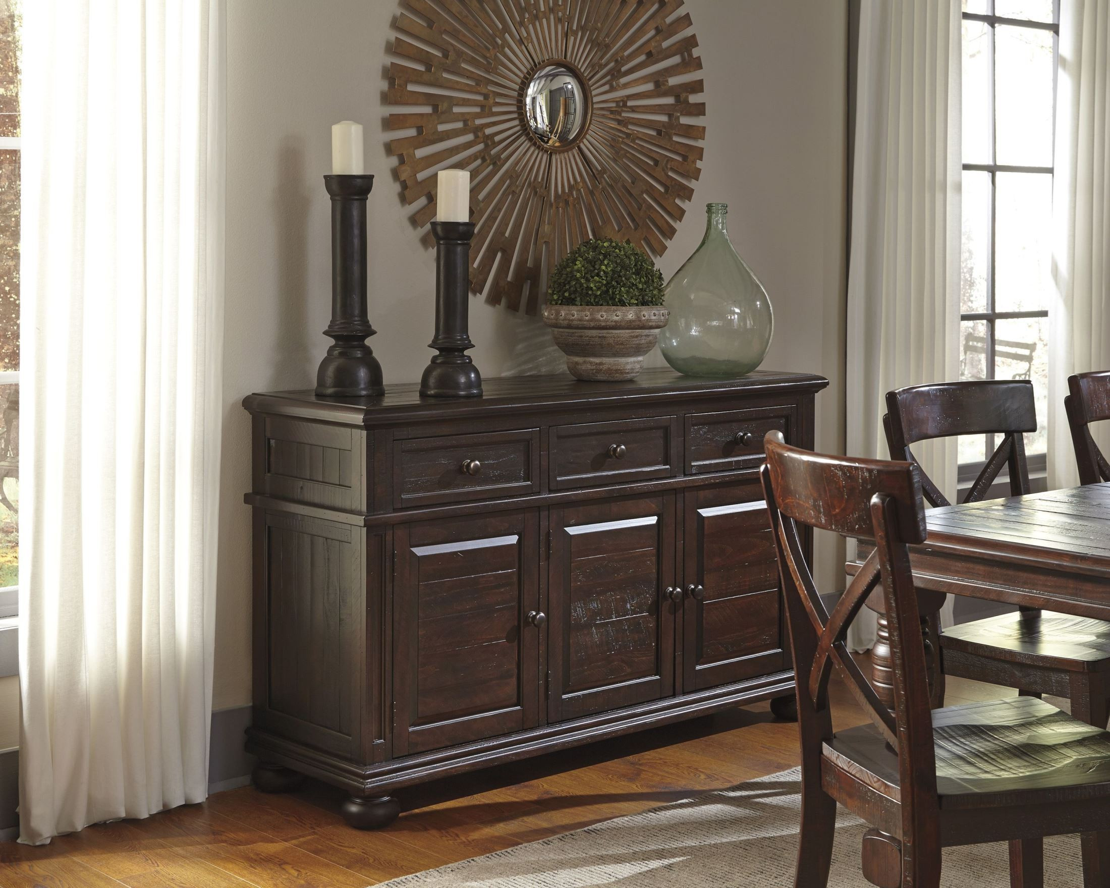Best ideas about Dining Room Server . Save or Pin Gerlane Dark Brown Dining Room Server from Ashley D657 60 Now.