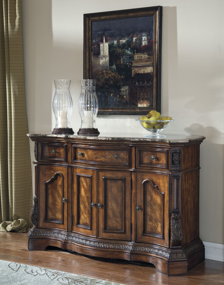 Best ideas about Dining Room Server . Save or Pin BROWN TRADITIONAL DINING ROOM SERVER SIDEBOARD BUFFET Now.