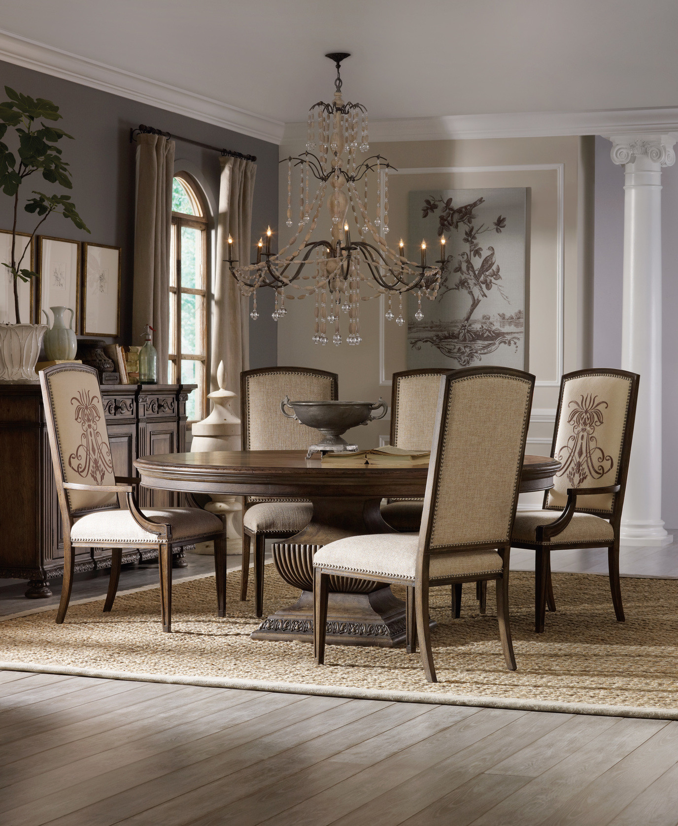 Best ideas about Dining Room Tables . Save or Pin Rhapsody 72 Inch Round Table Dining Room Collection by Now.