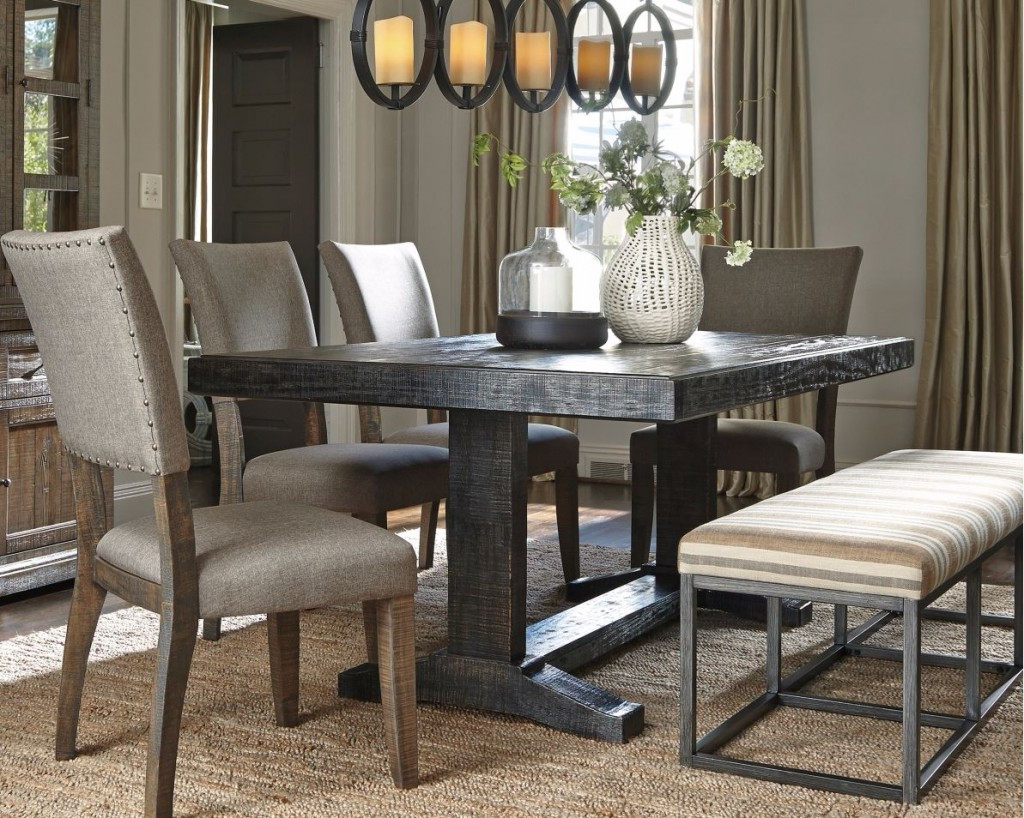 Best ideas about Dining Room Tables . Save or Pin The New Urban Farmhouse Chic Now.