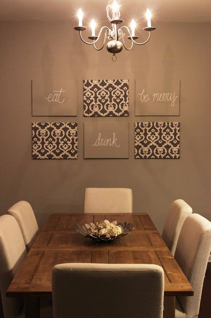 Best ideas about Dining Room Wall Art . Save or Pin 1000 ideas about Dining Room Decorating on Pinterest Now.