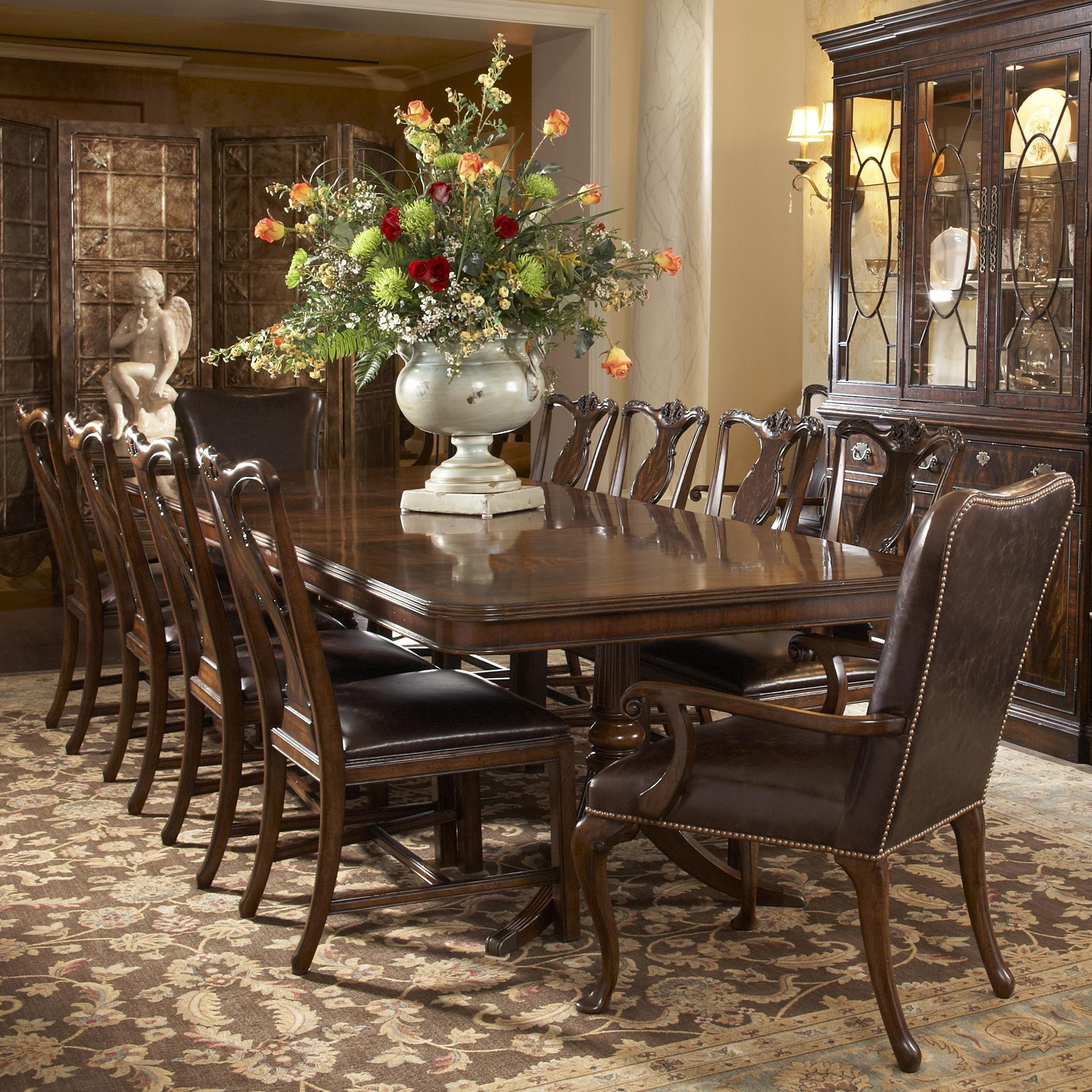Best ideas about Dining Table And Chair Set . Save or Pin 11 Piece Dining Room Set Now.