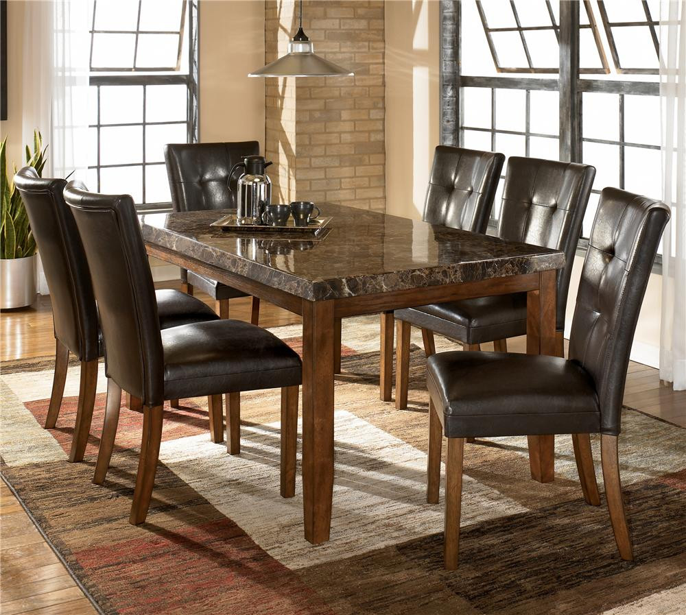 Best ideas about Dining Table And Chair Set . Save or Pin Ashley Signature Design Lacey 7 Piece Dining Table & Chair Now.