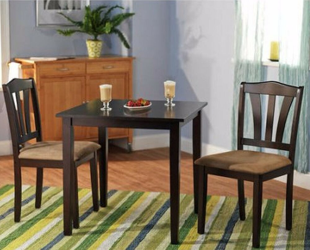 Best ideas about Dining Table And Chair Set . Save or Pin Small Kitchen Table Sets Nook Dining and Chairs 2 Bistro Now.