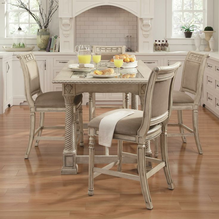 Best ideas about Dining Table And Chair Set . Save or Pin Empire II 5 Piece Gathering Table and Chair Set by Now.