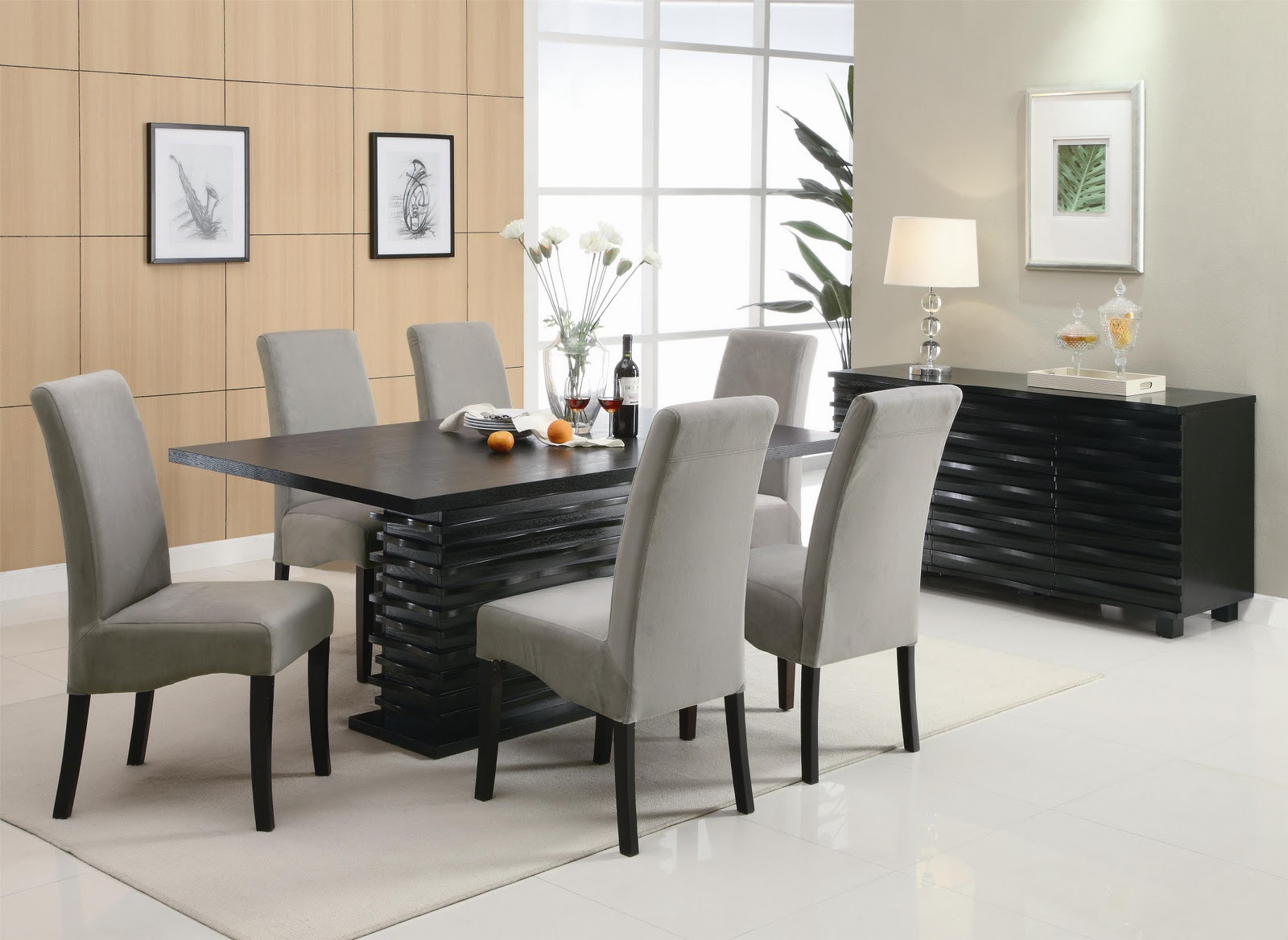 Best ideas about Dining Table And Chair Set . Save or Pin Dining Room Now.