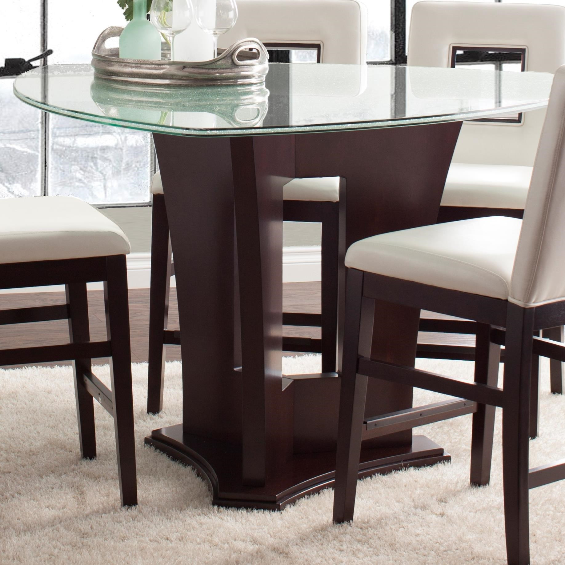 Best ideas about Dining Table Height . Save or Pin Najarian Soho Counter Height Dining Table with Crackled Now.