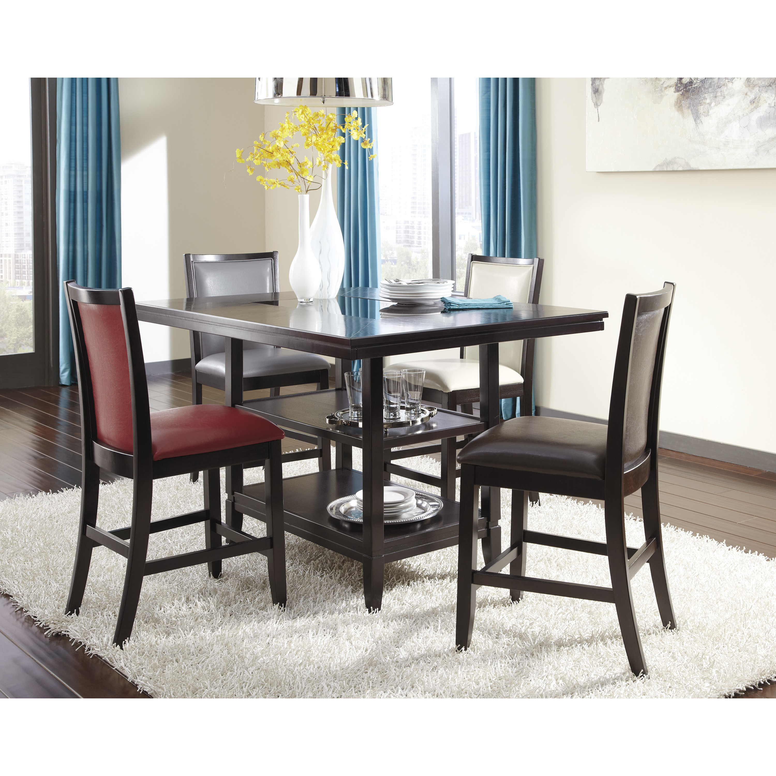 Best ideas about Dining Table Height . Save or Pin Signature Design by Ashley Trishelle Counter Height Dining Now.