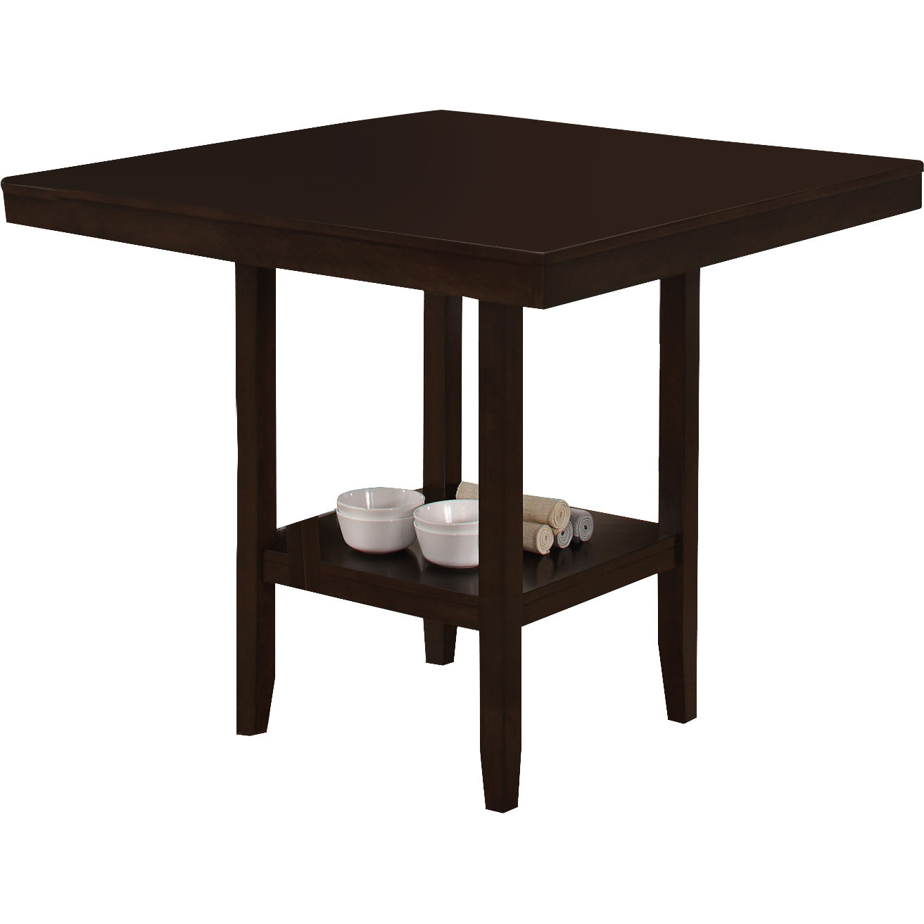 Best ideas about Dining Table Height . Save or Pin Monarch Specialties Inc Counter Height Dining Table Now.