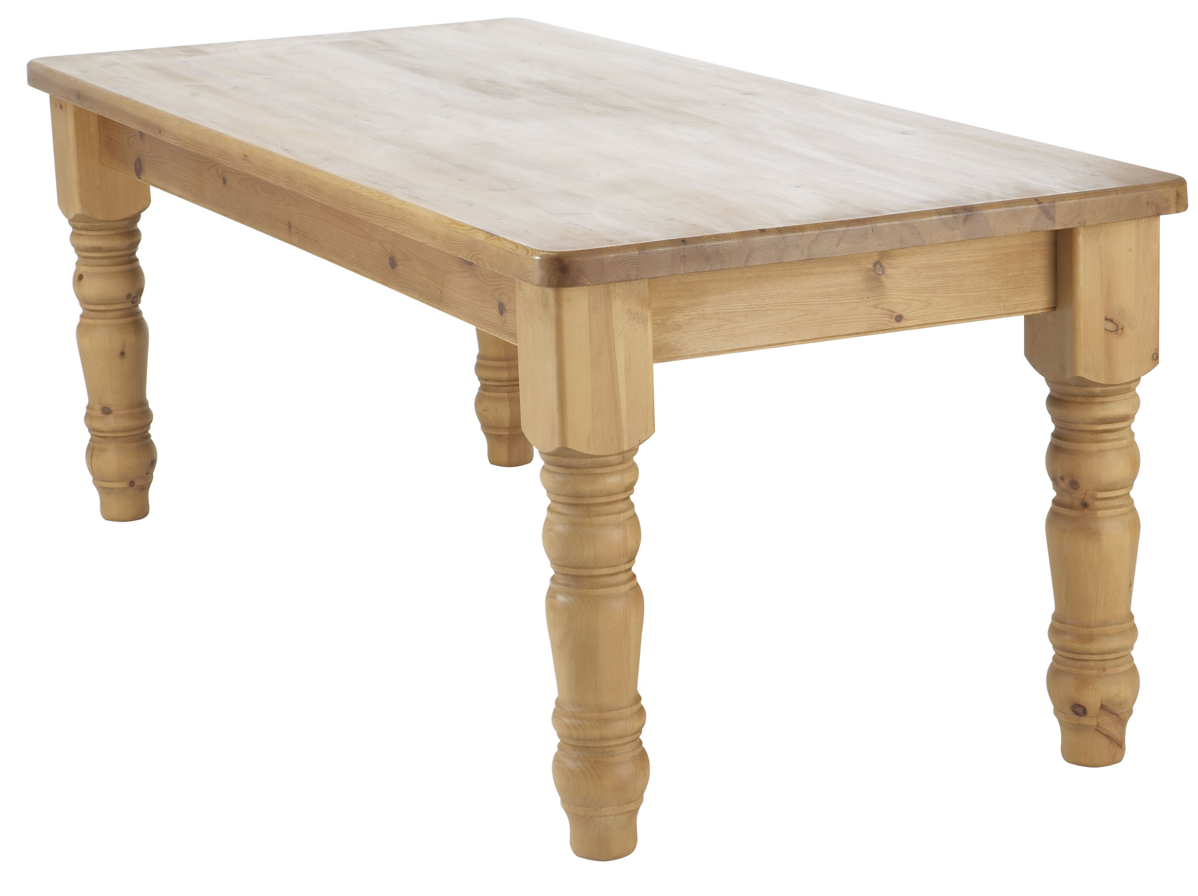 Best ideas about Dining Table Legs . Save or Pin Premier Pine Thick Top Farmhouse Dining Table on 5 legs Now.