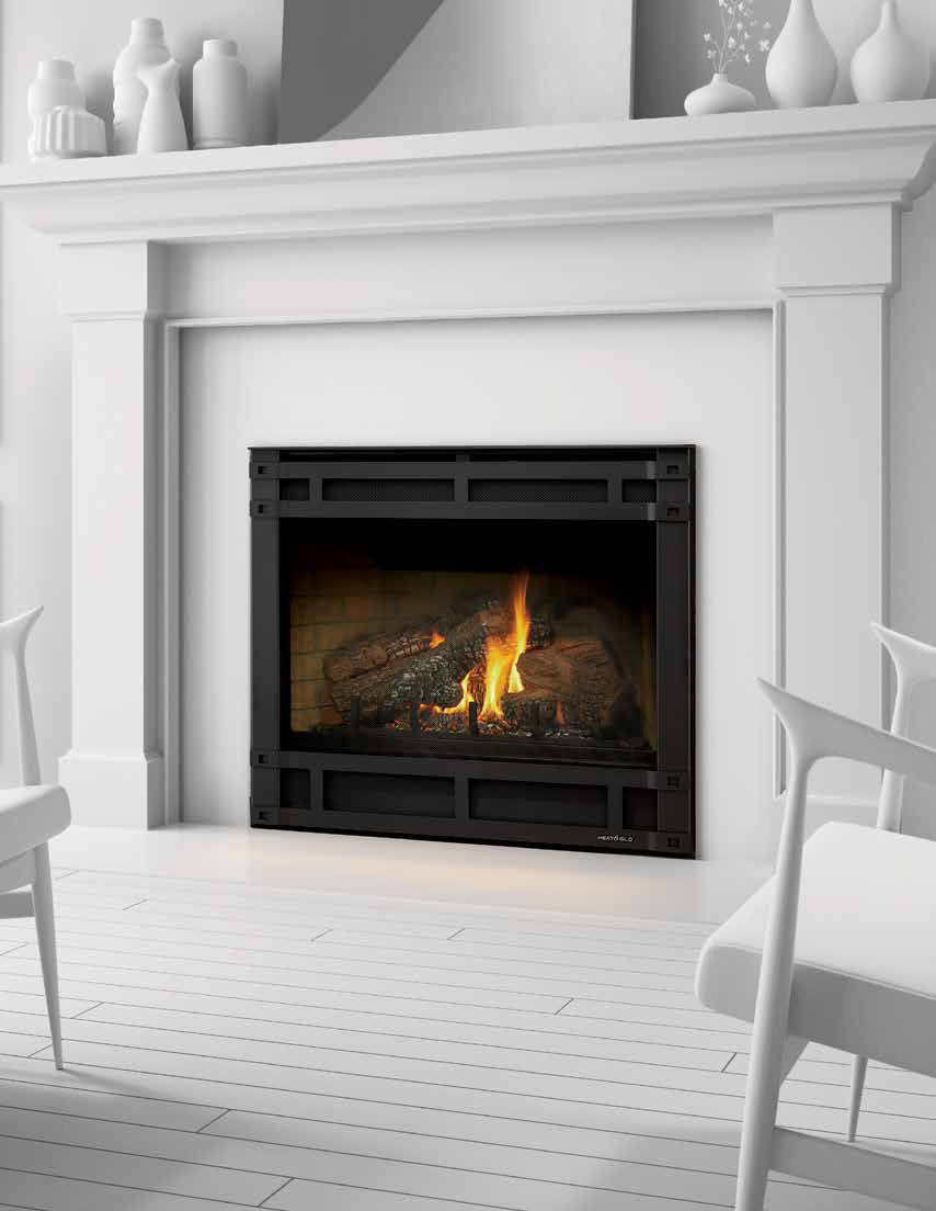 Best ideas about Direct Vent Fireplace . Save or Pin Slimline Direct Vent Gas Fireplace American Heritage Now.