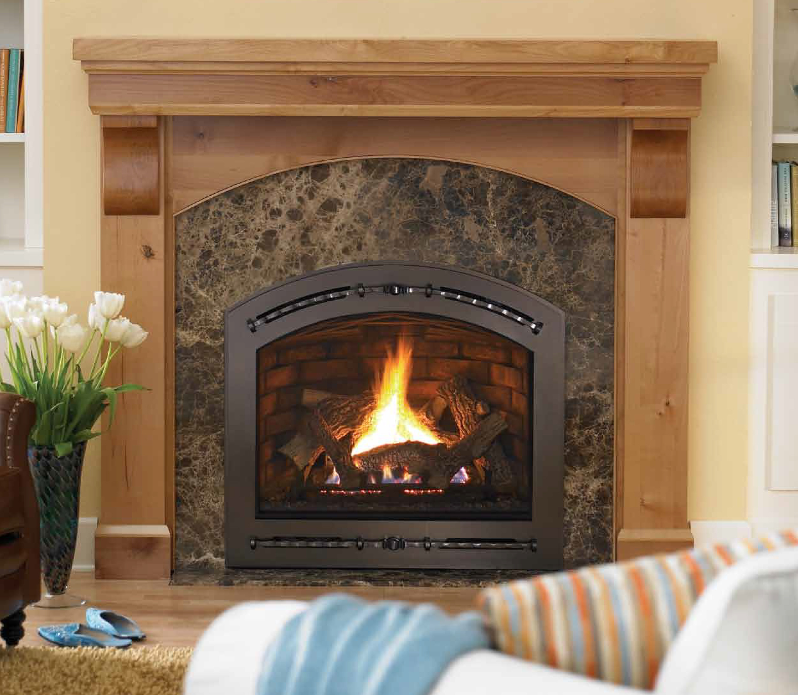Best ideas about Direct Vent Fireplace . Save or Pin Fireplaces Now.