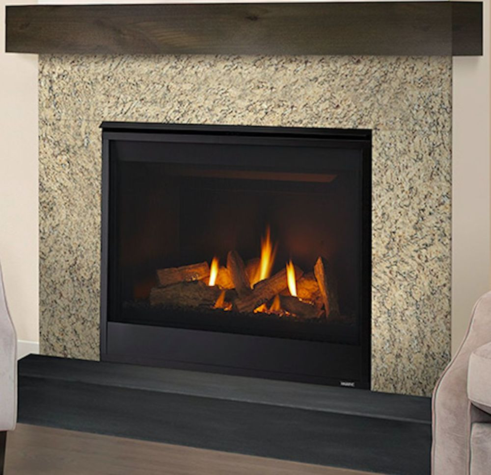 "Best ideas about Direct Vent Fireplace . Save or Pin Majestic Quartz 32"" Direct Vent Gas Fireplace QUARTZ32 Now."