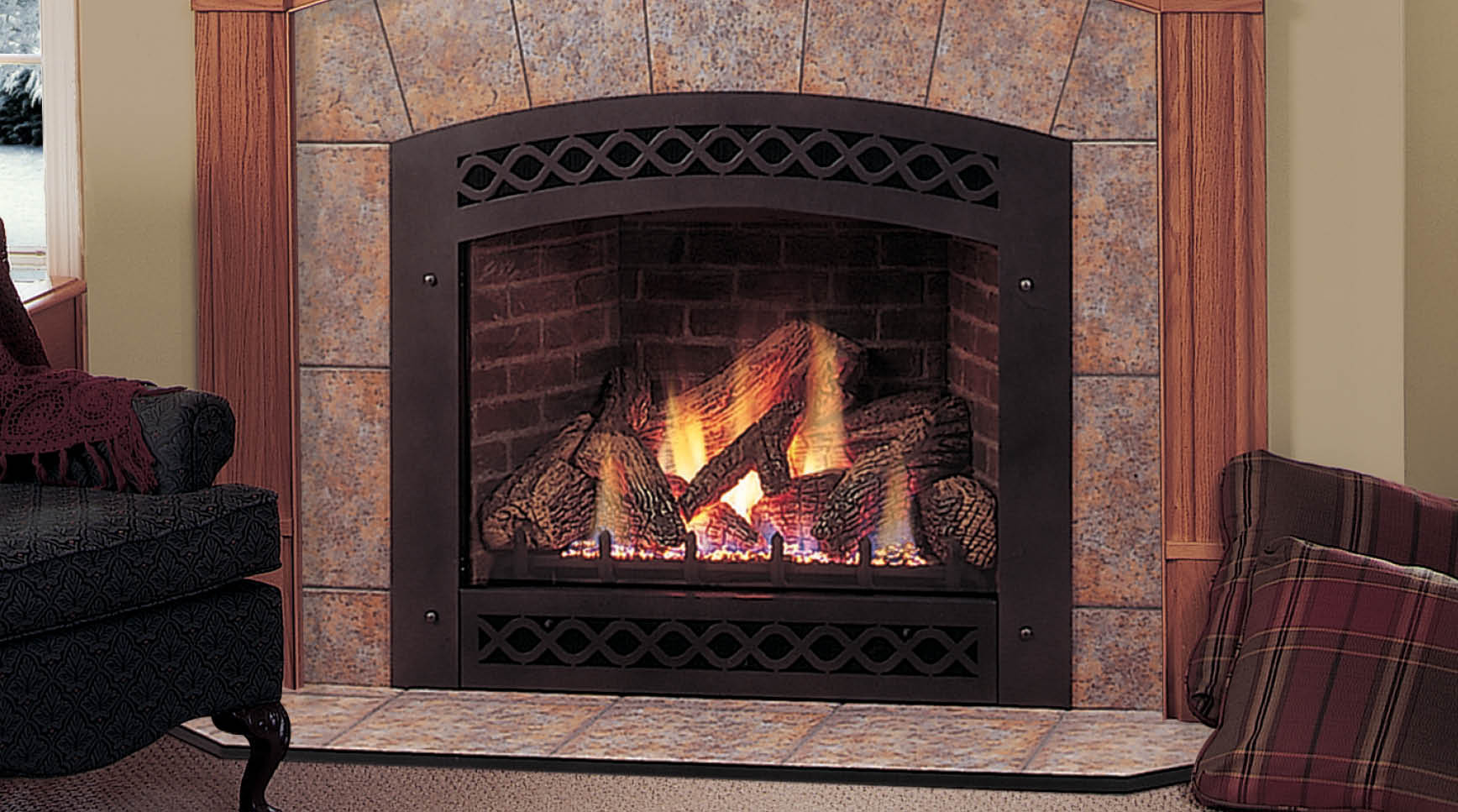 Best ideas about Direct Vent Gas Fireplace . Save or Pin Lexington Direct Vent Gas Fireplace Now.