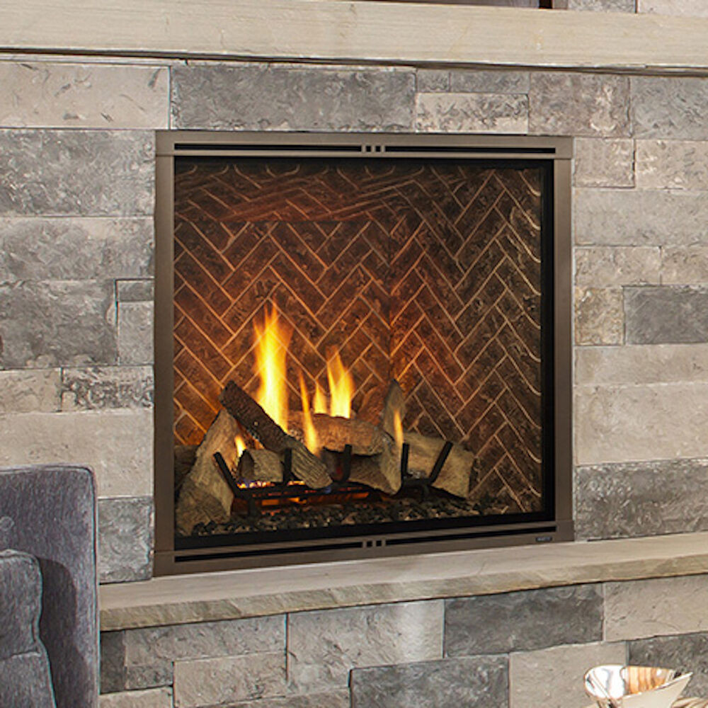 """Best ideas about Direct Vent Gas Fireplace . Save or Pin Majestic Marquis II MARQ42IN 42"""" Direct Vent Gas Fireplace Now."""