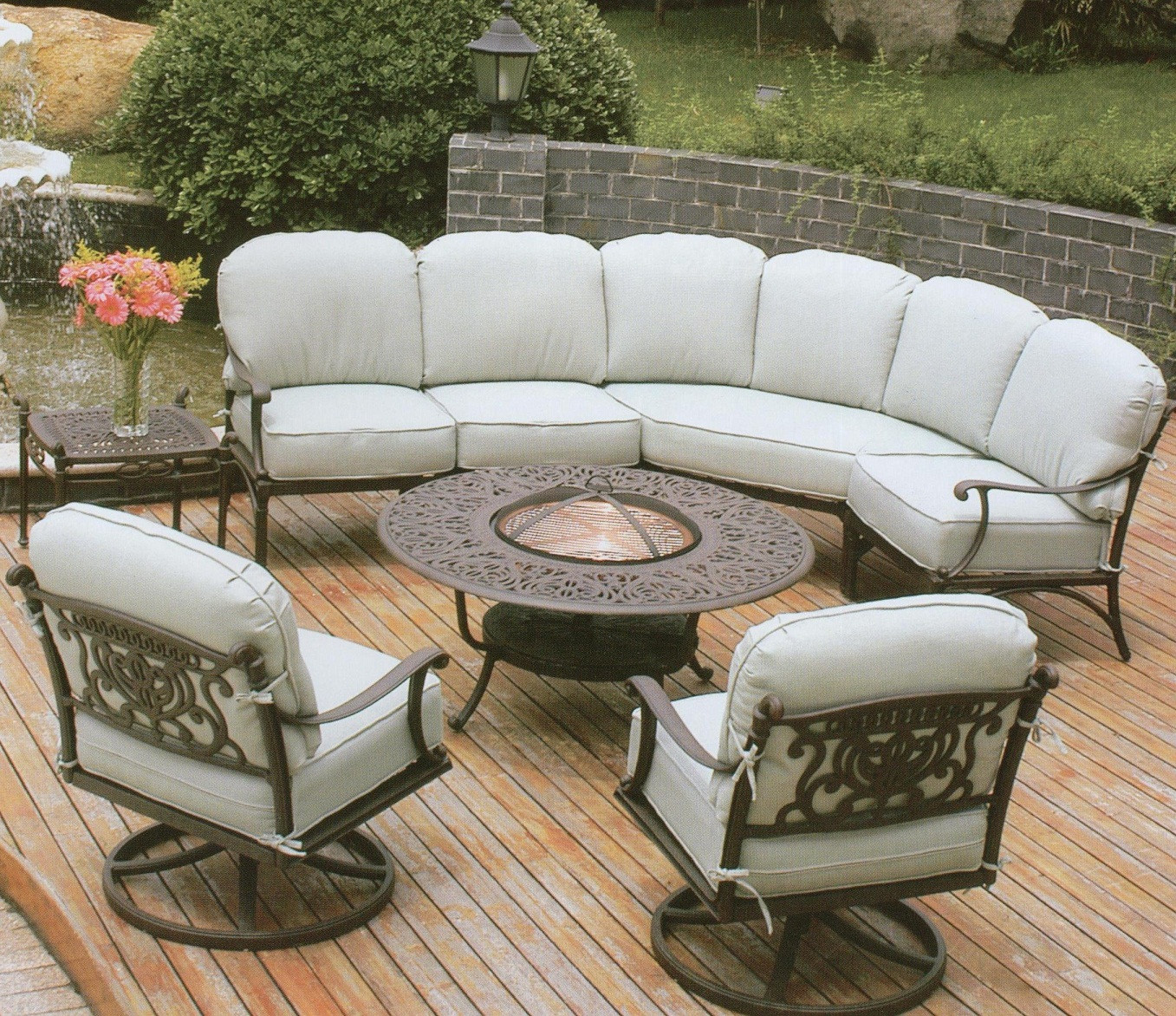 Best ideas about Discontinued Patio Furniture . Save or Pin Patio Furniture Sears Clearance Sale Cottage Outdoor Now.