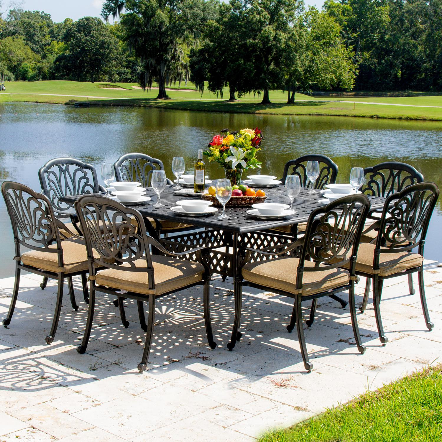 Best ideas about Discontinued Patio Furniture . Save or Pin 30 Model Patio Dining Sets Clearance pixelmari Now.