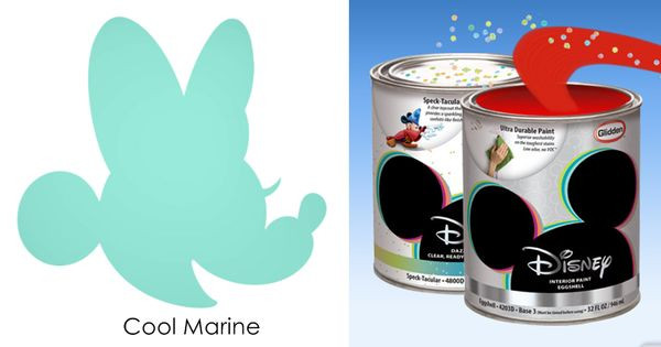 Best ideas about Disney Paint Colors . Save or Pin Disney Paint by Glidden Cool Marine turquoise Disney Now.