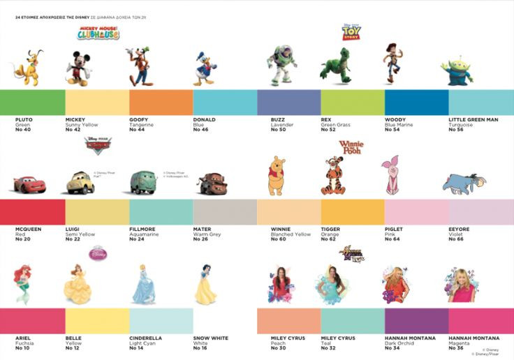 Best ideas about Disney Paint Colors . Save or Pin disney color scale All things Disney Now.