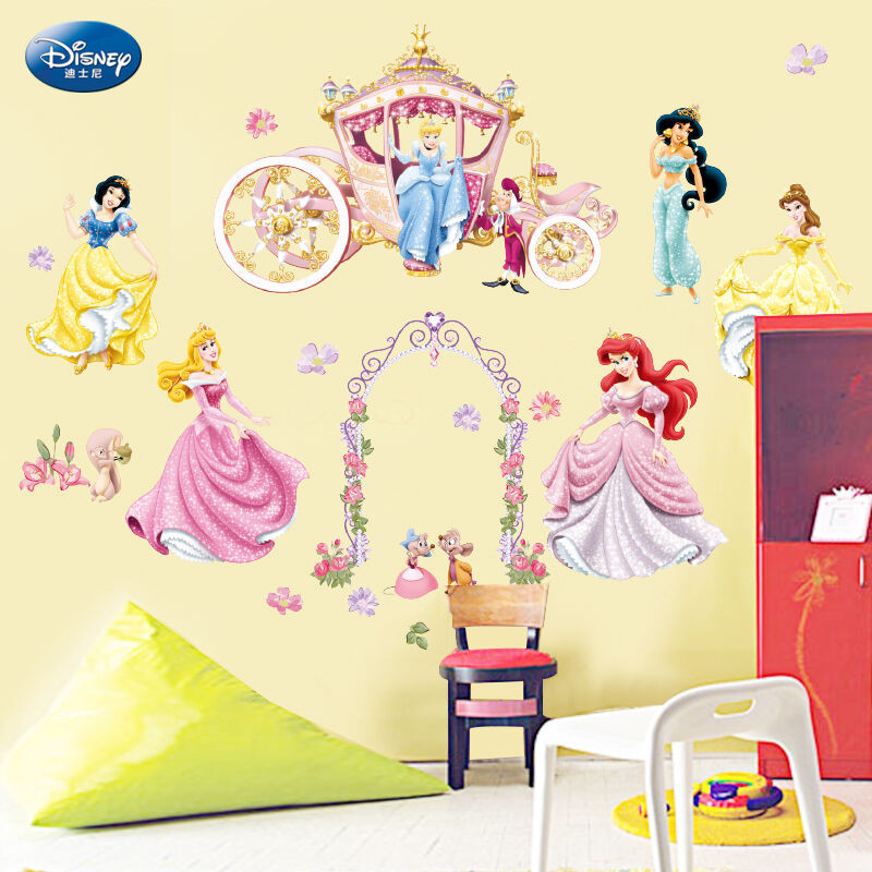 Best ideas about Disney Wall Art . Save or Pin Disney Princess Girls Wall Stickers Nursery Vinly Decal Now.