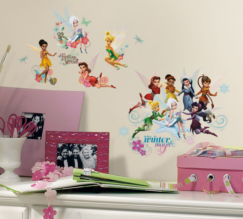 Best ideas about Disney Wall Art . Save or Pin New DISNEY FAIRIES SECRET OF THE WINGS WALL DECALS Now.