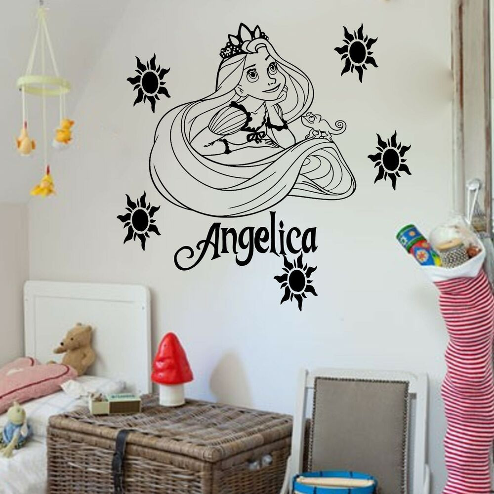 Best ideas about Disney Wall Art . Save or Pin Disney Princess RAPUNZEL TANGLED Vinyl Wall Art Sticker Now.