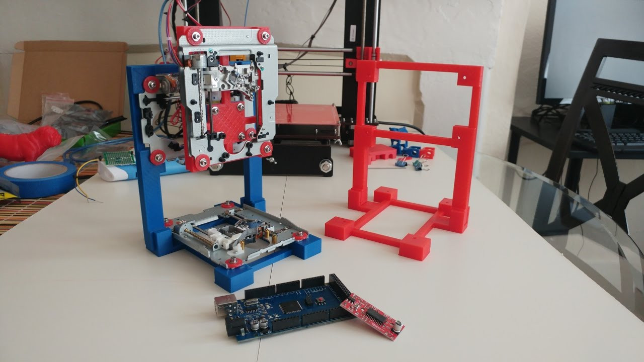 Best ideas about DIY 3D Printer Plans . Save or Pin DIY 3D Printer New Frame Design And Print Plus Now.