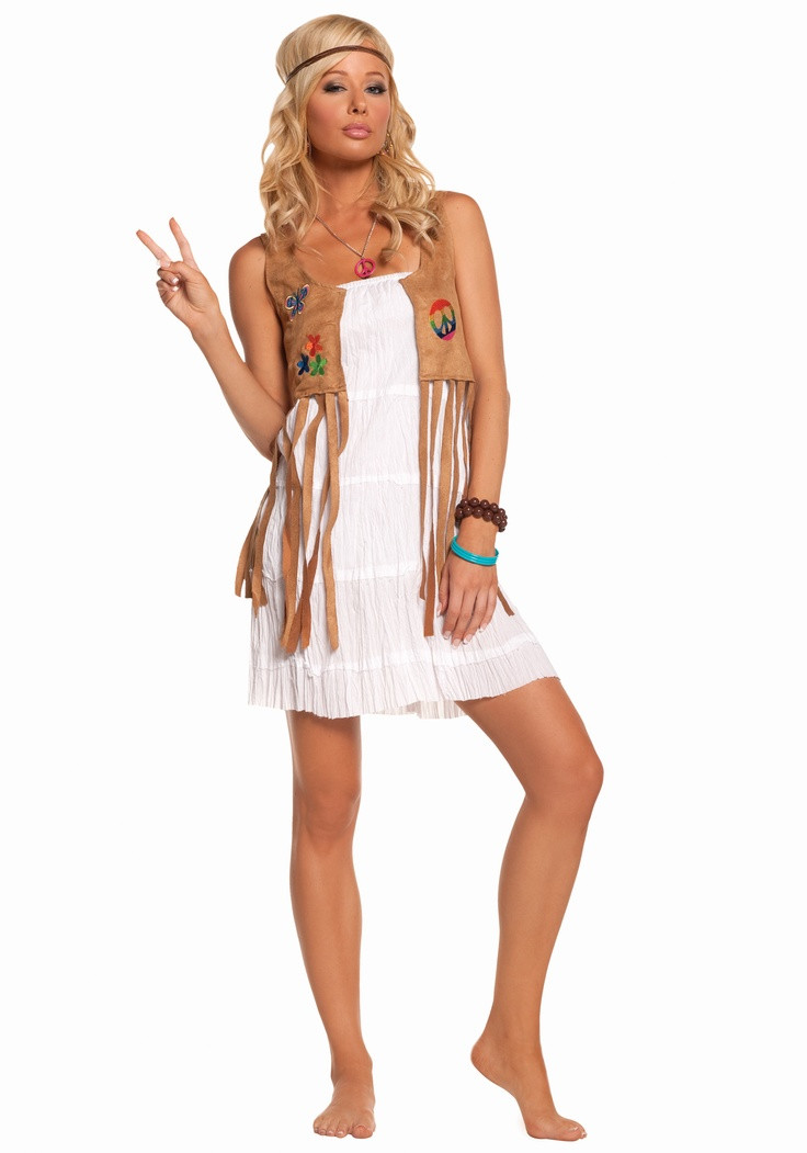 Best ideas about DIY 70S Costume . Save or Pin 17 Best images about Hippie Costume on Pinterest Now.
