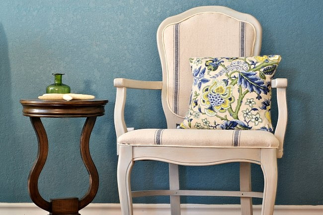 Best ideas about DIY Accent Chair . Save or Pin DIY Accent Chair Reupholster Now.