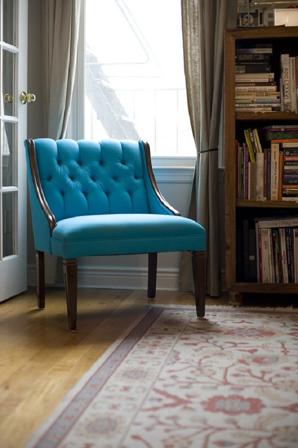 Best ideas about DIY Accent Chair . Save or Pin Beautiful DIY Chair Upholstery Ideas to Inspire Now.