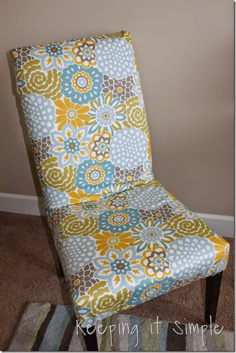 Best ideas about DIY Accent Chair . Save or Pin Keeping it Simple DIY Furniture Idea $5 Accent Chair Redo Now.