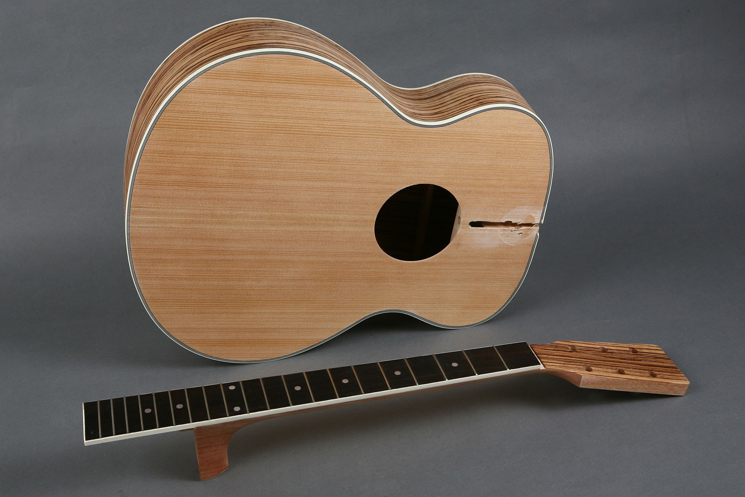 Best ideas about DIY Acoustic Guitar Kits . Save or Pin Spruce Top Jumbo Acoustic Guitar DIY Kit GK S4022 BYGuitar Now.