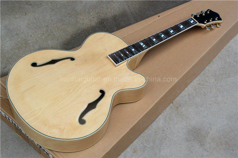 Best ideas about DIY Acoustic Guitar Kits . Save or Pin China Hanhai L5 Electric Guitar Kit with Original Wood Now.