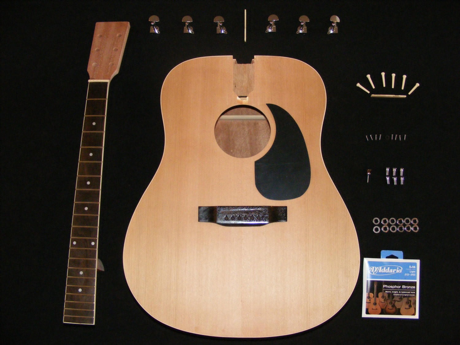 Best ideas about DIY Acoustic Guitar Kits . Save or Pin DIY Acoustic Guitar Kit by CitharaGuitars on Etsy Now.