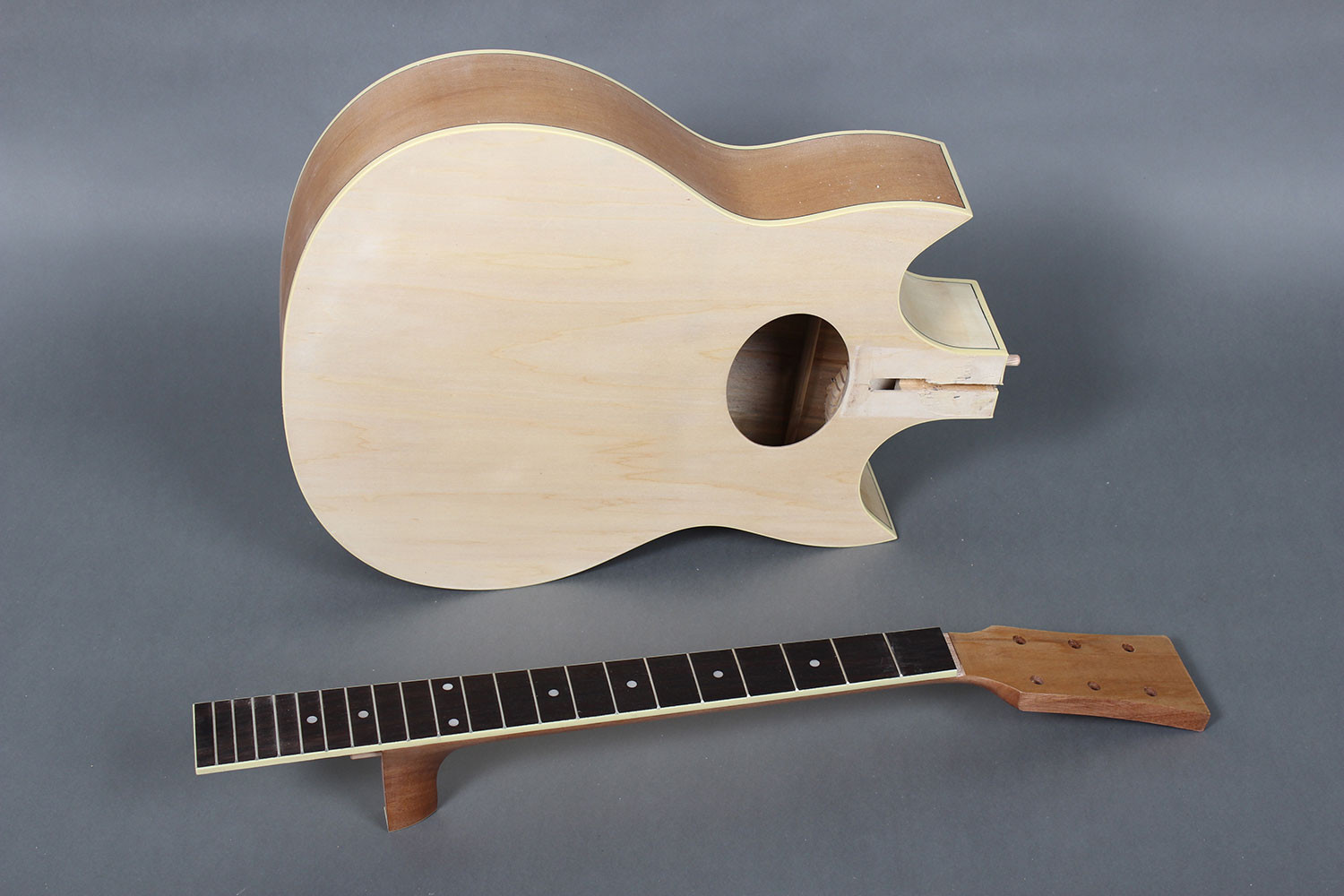 Best ideas about DIY Acoustic Guitar Kits . Save or Pin Jumbo Double Cutaway Acoustic Guitar kit DIY GK S3991DG Now.