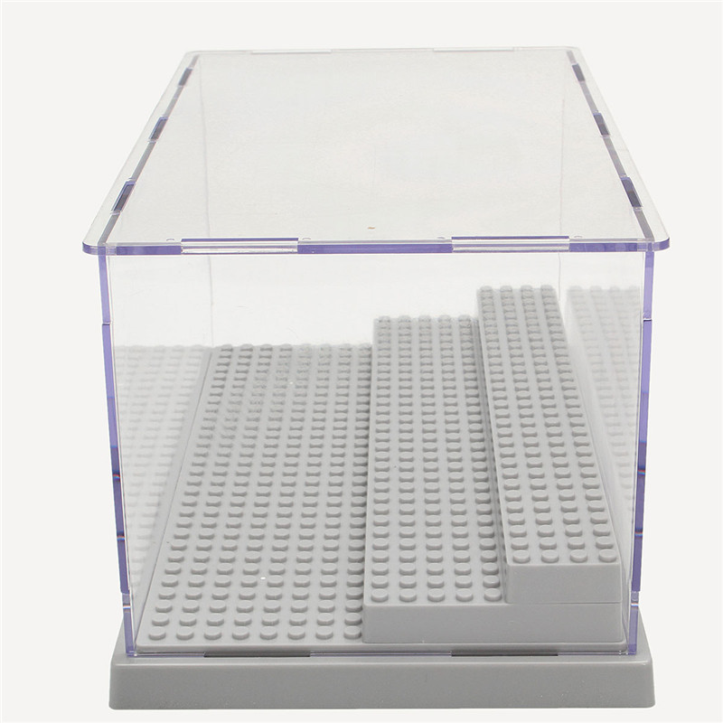 Best ideas about DIY Acrylic Box . Save or Pin 3 Steps Clear Acrylic Display Case Dustproof Tray Now.