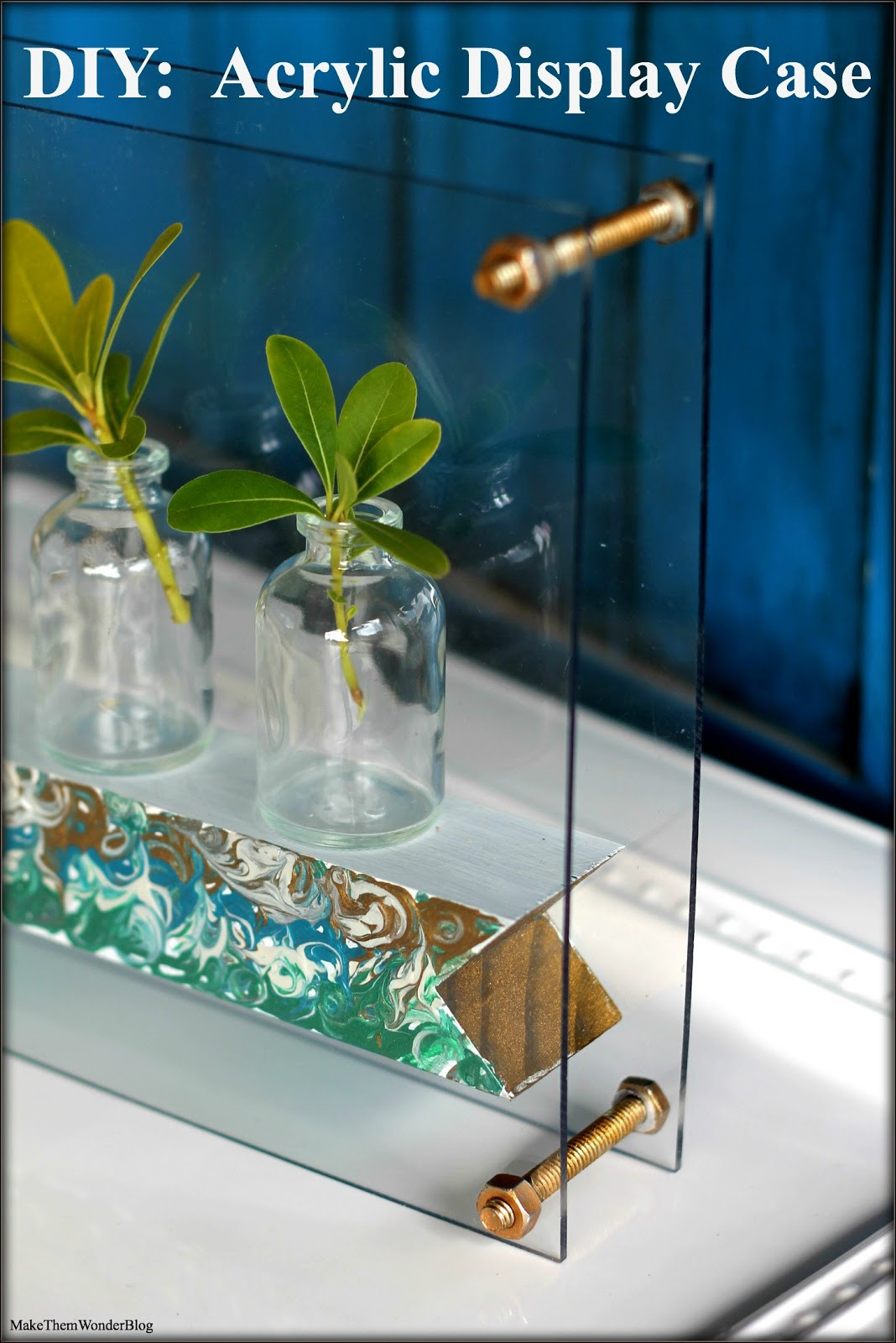 Best ideas about DIY Acrylic Box . Save or Pin Make Them Wonder DIY Acrylic Display Case Now.