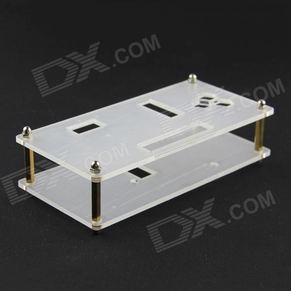 Best ideas about DIY Acrylic Box . Save or Pin DIY Acrylic Case Box for pcDuino Arduino Transparent Now.