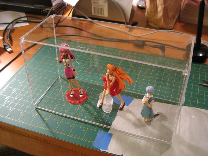 Best ideas about DIY Acrylic Box . Save or Pin tasty monkey brains DIY Figurine Display Case Now.