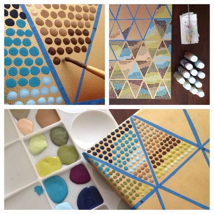 Best ideas about DIY Acrylic Paints . Save or Pin DIY Paint Project all it takes is a blank canvas gold Now.