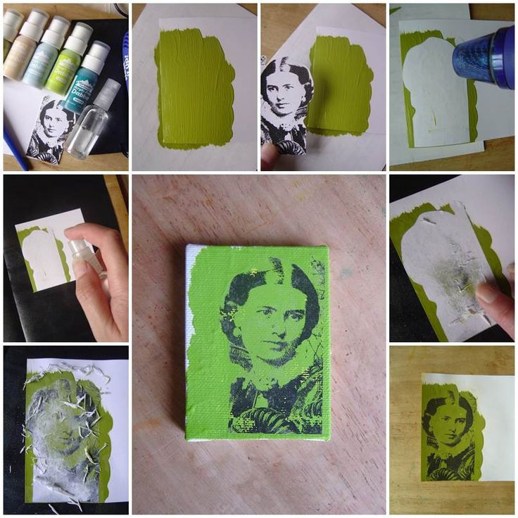 Best ideas about DIY Acrylic Paints . Save or Pin DIY Transfer Using Acrylic Paint Now.