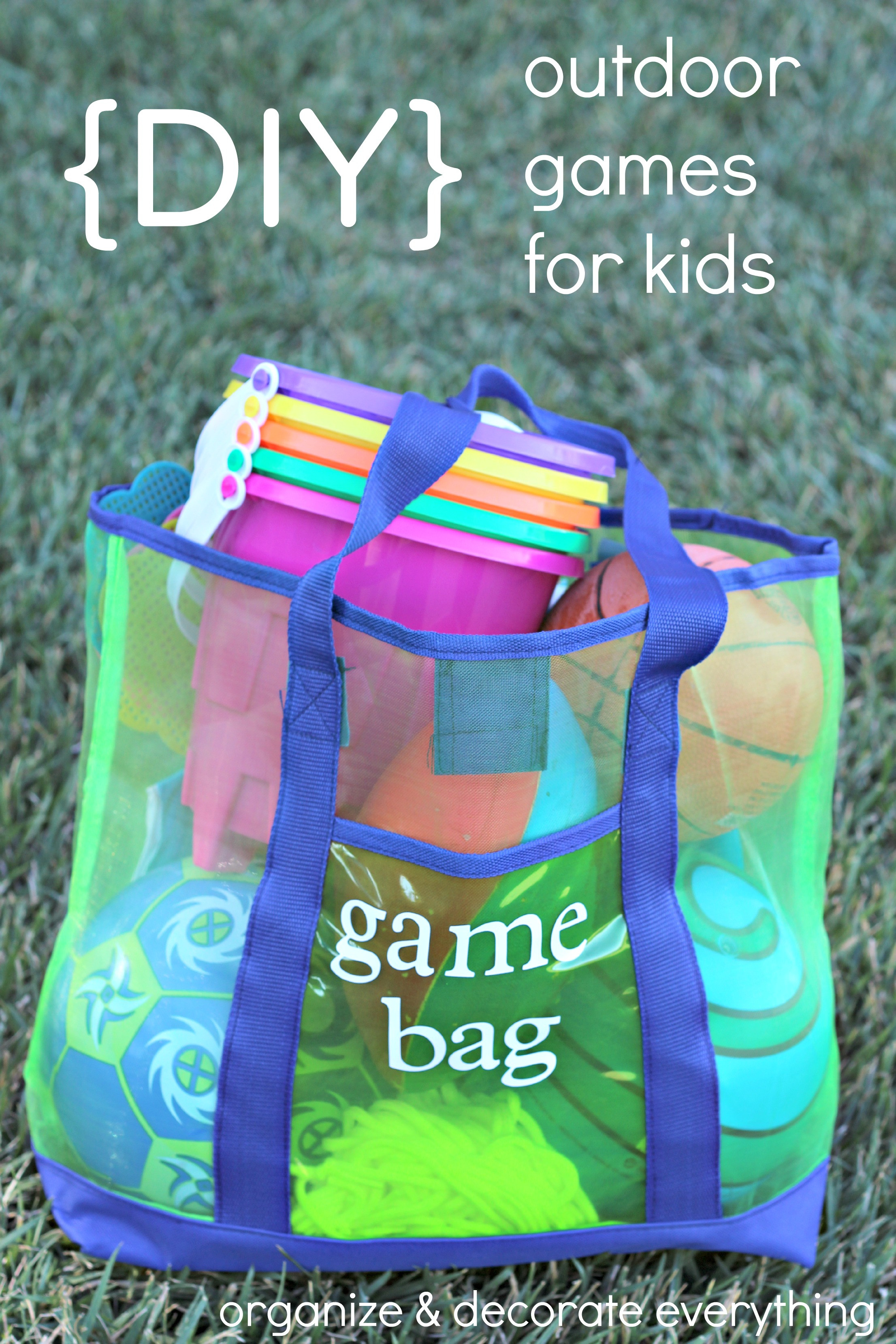 Best ideas about DIY Activities For Kids . Save or Pin DIY Outdoor Games for Kids Organize and Decorate Everything Now.