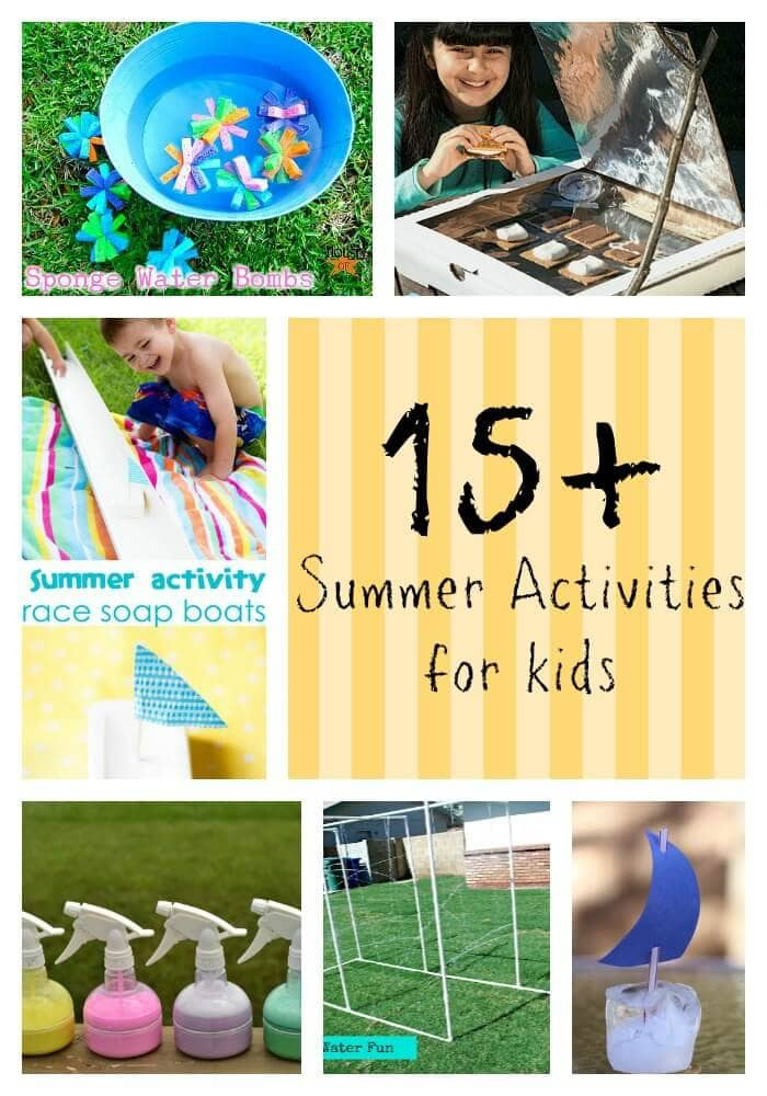 Best ideas about DIY Activities For Kids . Save or Pin 15 Summer Activities for Kids I Heart Nap Time Now.