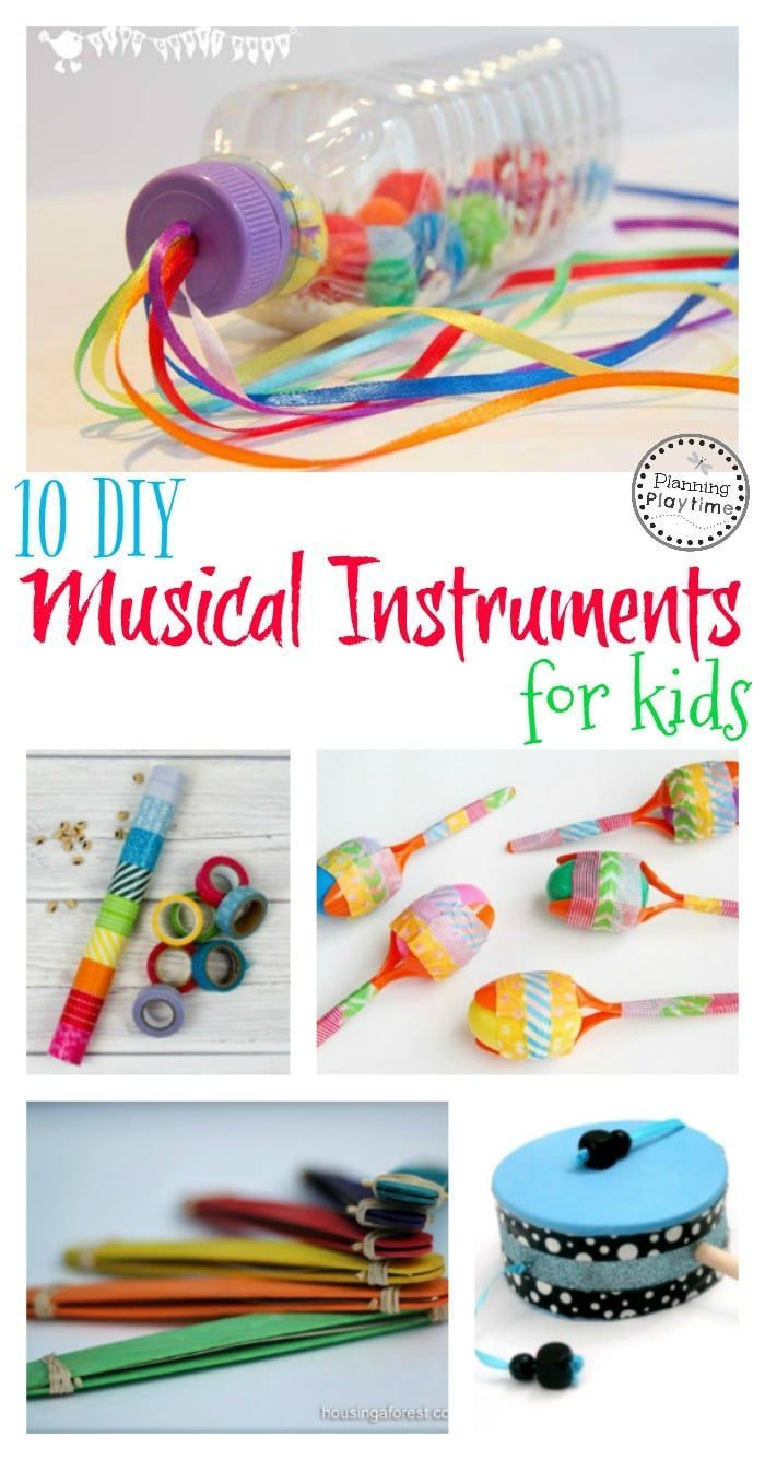 Best ideas about DIY Activities For Kids . Save or Pin 10 DIY Musical Instruments for Kids Now.