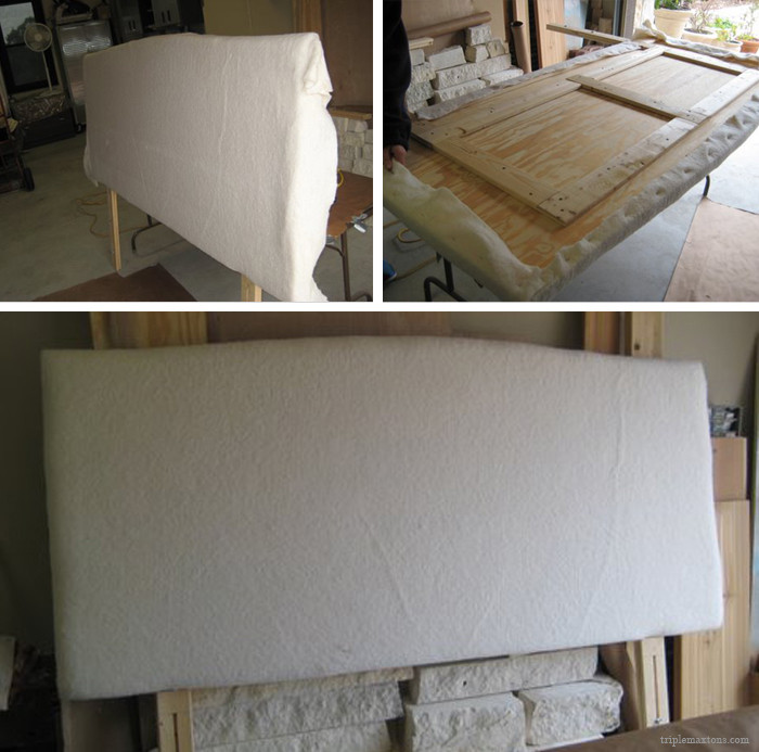 Best ideas about DIY Adjustable Bed . Save or Pin DIY UPHOLSTERED HEADBOARD TUTORIAL & REVEAL Triple Max Tons Now.
